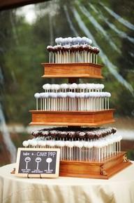 Gâteau de cake pop