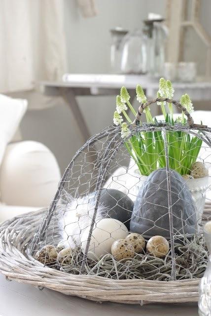 des id es de d coration pour vos tables de p ques marianik. Black Bedroom Furniture Sets. Home Design Ideas