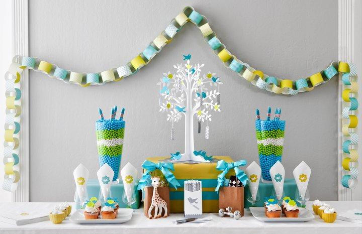 decoration baby shower: